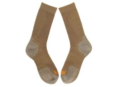 Носки тактические 5.11 Slip Stream Crew Sock, [106] Dark Coyote, 5.11 Tactical®