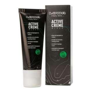 Обувной крем LOWA Active Cream 75 ml (черный) [019] Black, LOWA®