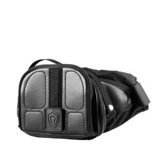 Оперативная поясная сумка 9Tactical Casual Bag S ECO Leather, [019] Black