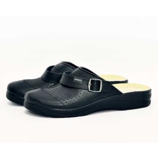 Ортопедичні сандалі ADACO Black чоловічі (закриті)