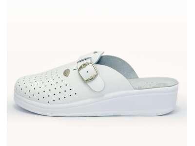 Ортопедичні сандалі ADACO White жіночі (закриті)