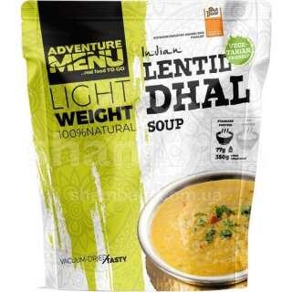Гострий суп з сочевицею Adventure Menu Lentil Dhal (soup) 116 г (AM 311)
