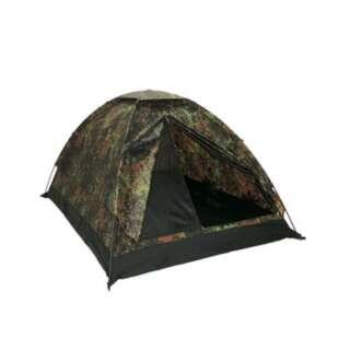 Палатка двухместная Iglu Super, [1215] Немецкий камуфляж, Sturm Mil-Tec® Reenactment
