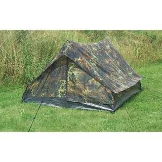 Палатка двухместная MINI PACK STANDARD, [1215] Немецкий камуфляж, Sturm Mil-Tec® Reenactment