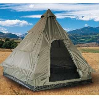 Палатка-пирамида 4-местная TIPI (Olive), Sturm Mil-tec Германия