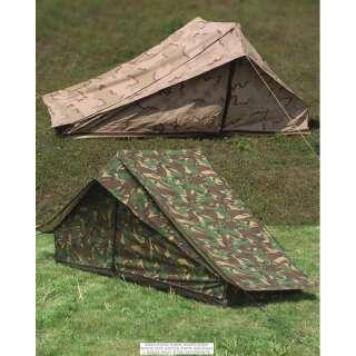 Палатка военная одноместная голландская, б/у, [1229] Голландский камуфляж, Sturm Mil-Tec® Reenactment