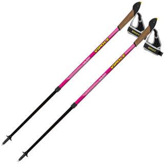Палки для скандинавской ходьбы Vipole Vario Novice Pink (S2034), Vipole (Italy)