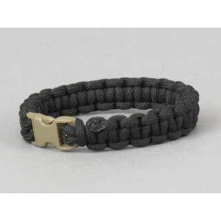 Pantac Paracord Bracelet Black L