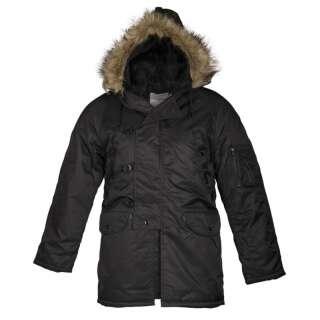 Парку зимова американська N3B Аляска, [019] Black, Sturm Mil-Tec®