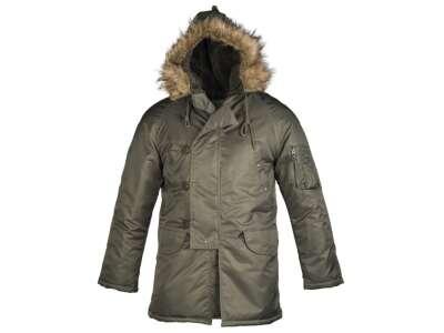 Парку зимова американська N3B Аляска, [182] Olive, Sturm Mil-Tec®