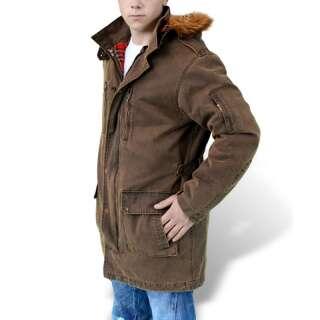 Парка зимняя SURPLUS XYLONTUM GIANT PARKA, [108] Brown, Surplus Raw Vintage®