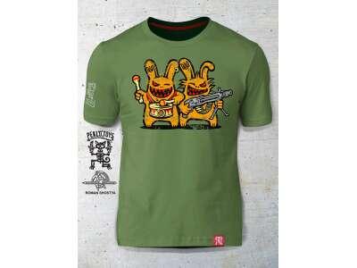 PEKLO.TOYS футболка Близнюки Olive