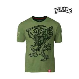 PEKLO.TOYS футболка Грифон 2020 Olive
