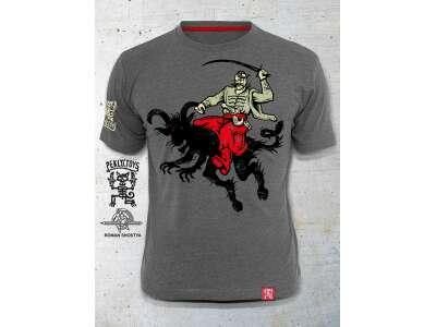 PEKLO.TOYS футболка Родео Melange Grey