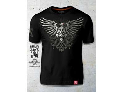 PEKLO.TOYS футболка Орел-Тризуб черная