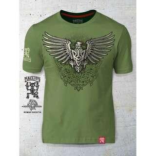 PEKLO.TOYS футболка Орел-Тризуб олива
