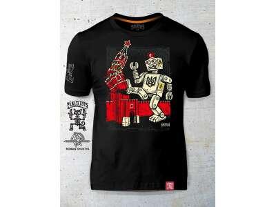 PEKLO.TOYS футболка Робот Black