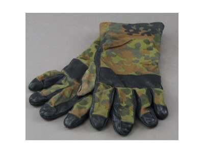 Перчатки Бундесвер камуфляжные б/у, [1215] Немецкий камуфляж, Sturm Mil-Tec® Reenactment