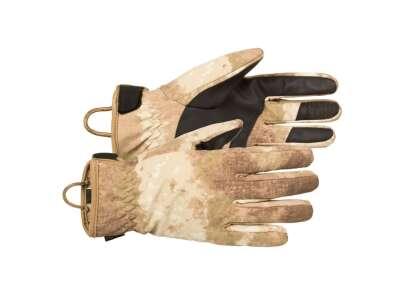 Перчатки демисезонные влагозащитные полевые CFG (Cyclone Field Gloves), [1128] AT Camo, P1G-Tac