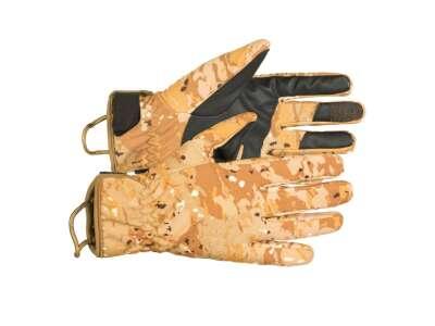 Рукавички демісезонні вологозахисні польові CFG (Cyclone Field Gloves), [1235] Камуфляж Жаба Степова, P1G-Tac