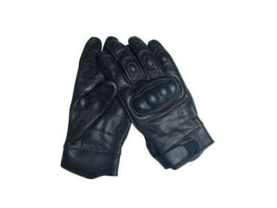Перчатки Gripper (кожа), [019] Black, Sturm Mil-Tec® Reenactment