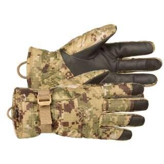 Перчатки полевые зимние N3B ECW Field Gloves АКЦИЯ, [1307] SOCOM camo, P1G-Tac®