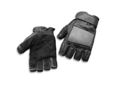 Перчатки штурмовые без пальцев SEC GLOVES, [019] Black, Sturm Mil-Tec® Reenactment