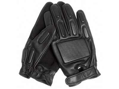 Перчатки штурмовые с демпфером полнопалые, [019] Black, Sturm Mil-Tec® Reenactment