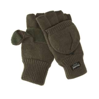 В'язані рукавички-рукавиці з утеплювачем Thinsulatе olive, Sturm Mil-Tec®