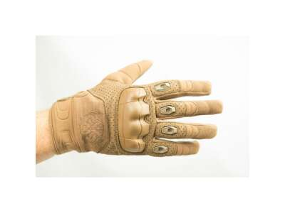 Рукавички стрілецькі FKG (Fast knuckles gloves), [+1174] Coyote Brown, P1G-Tac