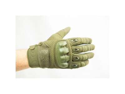 Перчатки стрелковые FKG (Fast knuckles gloves), [1271] Olive Green, P1G-Tac®