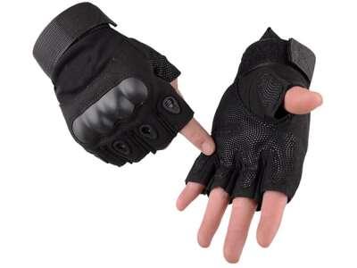 Рукавички тактичні без пальців Oakley (Black)