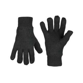 Рукавички зимові в'язані Thinsulate (Black), Sturm Mil-Tec®