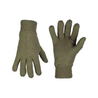 Рукавички зимові в'язані Thinsulate (Olive), Sturm Mil-Tec®