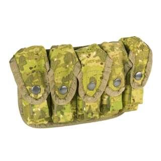 Підсумок для гранат ВОГ MOLLE SGP-5 (Soviet Grenade Launcher Pouch-5 pcs), [+1234] Камуфляж Жаба Польова, P1G-Tac -Tac -Tac