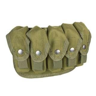 Підсумок для гранат ВОГ MOLLE SGP-5 (Soviet Grenade Launcher Pouch-5 pcs), АКЦІЯ, [1270] Olive Drab, P1G-Tac -Tac -Tac