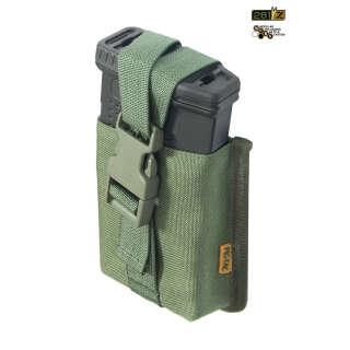 Подсумок одинарный магазинов снайперськой винтовки M.U.B.S.SRSMP -10/20(Snip.RifleSingleMag P.) (Camo Green), P1G®