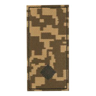 Погон ЗСУ на липучке Младший лейтенант (жаккард) MM14