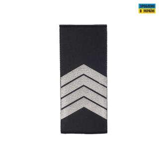Погоны Старший сержант Полиции (пара) муфта черные