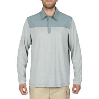 Поло-реглан 5.11 RAPID LS POLO, [800] Silver Pine, 5.11 Tactical®