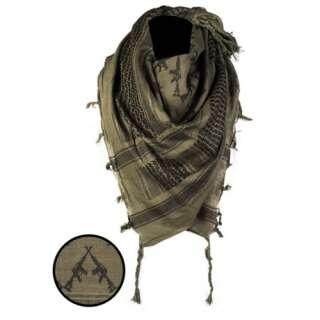 Повязка универсальная Шемаг Винтовка (Арафатка), [1266] Оливковый/чёрный, Sturm Mil-Tec® Reenactment