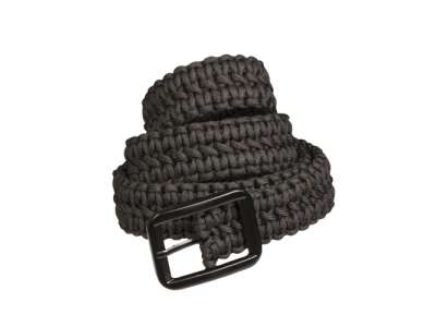 Пояс из паракорда PARACORD BELT, [019] Black, Sturm Mil-Tec® Reenactment