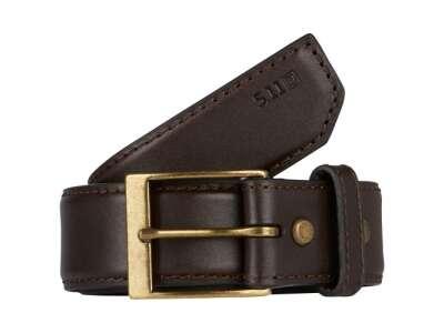Пояс тактический кожаный 5.11 Leather Casual Belt, [109] Classic Brown, 5.11