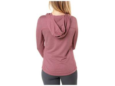 Пуловер женский 5.11 Aphrodite Hooded Pullover, [486] Code Red Herringbone, 5.11 Tactical®
