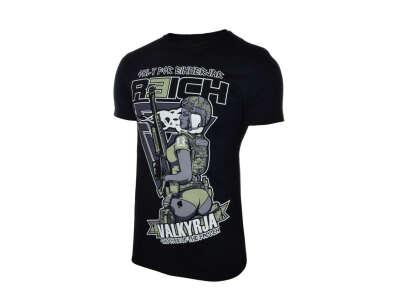 R3ICH футболка Валькирия черная