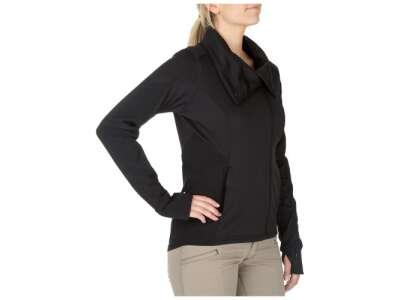 Реглан тактичний жіночий 5.11 Kinetic Full Zip, [019] Black, 5.11 ®