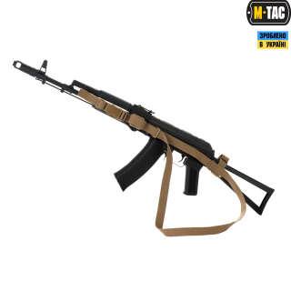 M-Tac ремінь збройовий триточковий Coyote