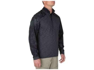 Рубашка боевая 5.11 Rapid Half Zip, [018] Charcoal, 5.11