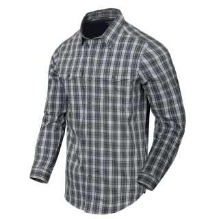 Сорочка Covert Concealed Carry з д. Рукавами, Foggy Grey Plaid, Helikon-Tex