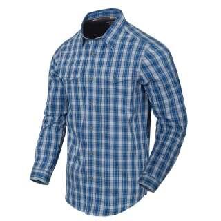 Сорочка Covert Concealed Carry з д. Рукавами, Ozark Blue Plaid, Helikon-Tex